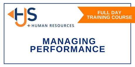 Managing Performance - Training with HJS Human Resources in Salisbury tickets