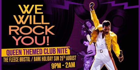 We Will Rock You - Queen Club Night  tickets