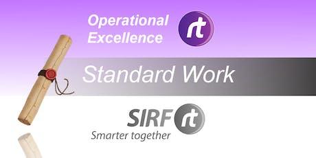 WA - OERt Masterclass | Standard Work Principles tickets