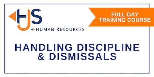 Handling Discipline & Dismissals - Training with HJS Human Resources in Salisbury