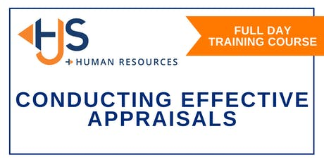 Conducting Effective Appraisals - Training with HJS Human Resources in Salisbury tickets
