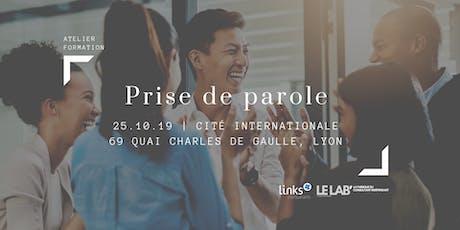 Atelier Formation #Lyon | Prise de parole en public | Links Consultants  billets