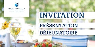 Déjeuner de présentation Montpellier