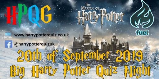 Big Harry Potter Quiz Night