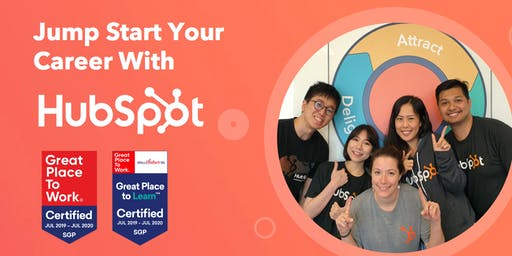 Jump Start Your Career With HubSpot