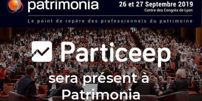 Particeep sera présent au salon Patrimonia les 26-27 septembre 2019 à Lyon