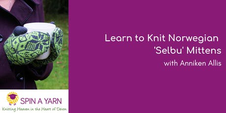 Learn to Knit Norwegian 'Selbu' Mittens with Anniken Allis  tickets