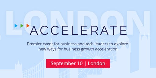 ACCELERATE | Premier event for business and tech leaders
