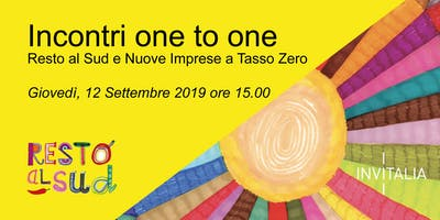 INCONTRI ONE TO ONE CON INVITALIA A KEEP ON LIVE FEST