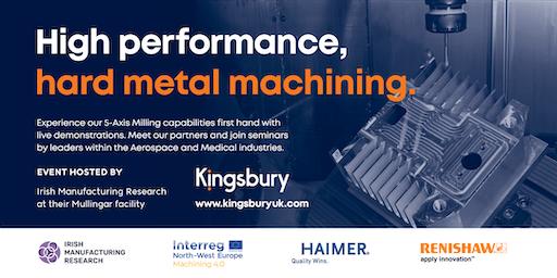 High performance, hard metal machining.