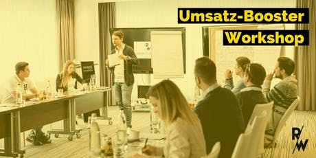 Umsatz-Booster Workshop Tickets