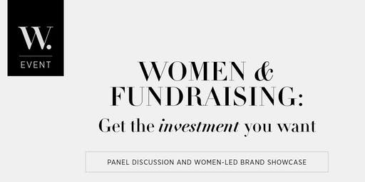 Women & Fundraising: Get the Investment You Want