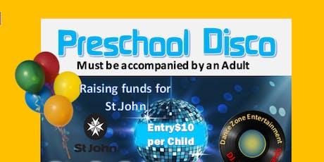 Preschool Disco supporting St John tickets