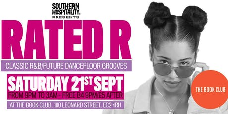 Rated R - Classic R&B/Future Anthems! tickets