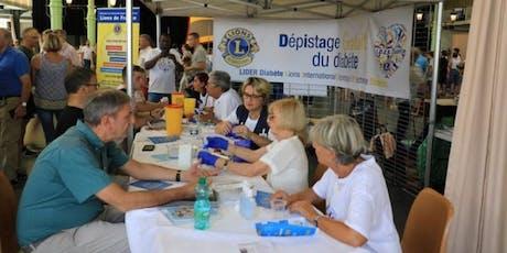 Opération LIDER Diabète - Dépistage gratuit du Diabète billets