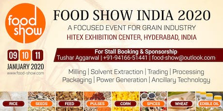 Food Show India 2020 tickets