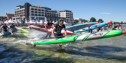 SUP KOMBI-Ticket Tech-Race + Jedermann-Rennen | ICF SUP World Cup Scharbeutz