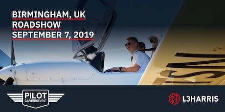 Airline Pilot Careers Event: Birmingham, UK - September 7, 2019 tickets
