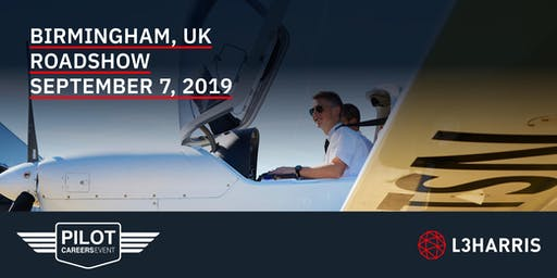 Airline Pilot Careers Event: Birmingham, UK - September 7, 2019