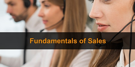 Sales Training London: Fundamentals Of Sales tickets