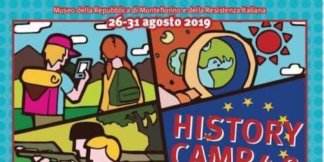 HISTORY CAMP 4.0 biglietti