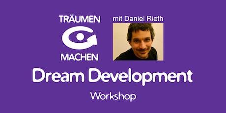 TRÄUMEN & MACHEN Workshop mit Daniel Rieth (Diebach b. Rothenburg odT) Tickets