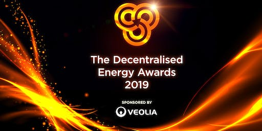 ADE Awards Dinner 2019, sponsored by Veolia - INDIVIDUAL SEATS