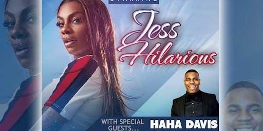 Comedy Explosion starring Jess Hilarious & HaHa Davis