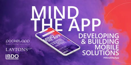 Mind The App: Developing & building mobile solutions : Greater Manchester Chamber of Commerce tickets