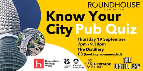 Know Your City Pub Quiz tickets