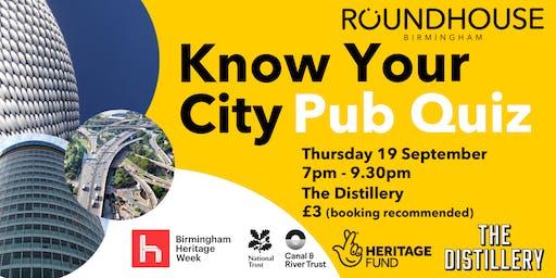 Know Your City Pub Quiz
