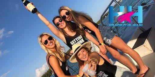 Miami Booze Cruise | Miami Hip Hop Party Boat $99
