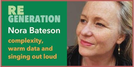 NORA BATESON IN SYDNEY••••••••  one-day workshop tickets