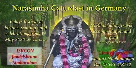 Narasimha Caturdasi in Germany Tickets