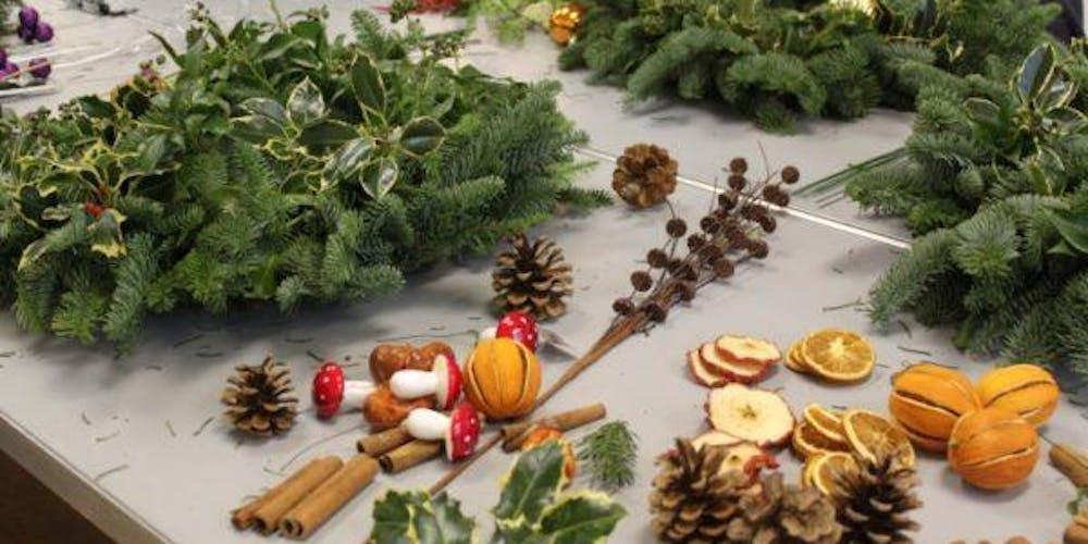 Making Christmas.Christmas Wreath Making Workshops