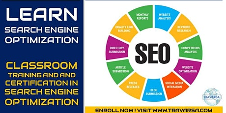 SEO - Search Engine Optimization [Crash Course and Certification] tickets