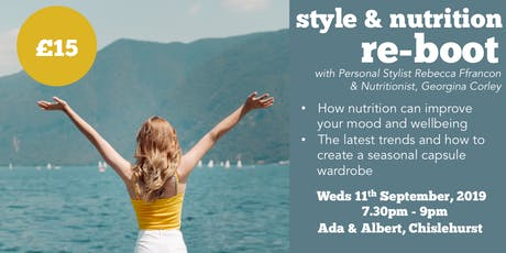 Style & Nutrition re-boot tickets