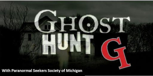 Grosse Ile Historical Society Ghost Hunt - October 5th