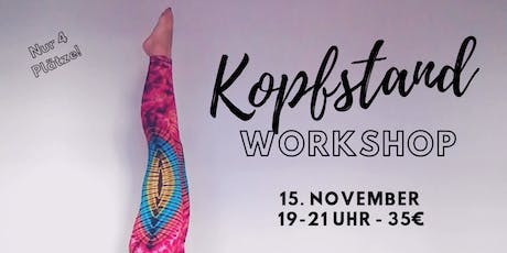 Kopfstand Workshop Tickets