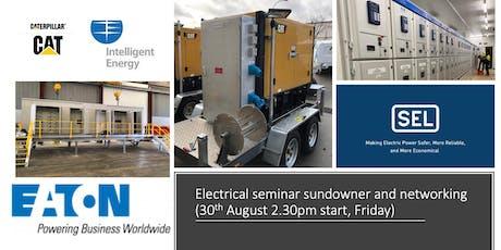 Electrical power technical sundowner tickets