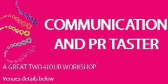 Communication and PR Taster
