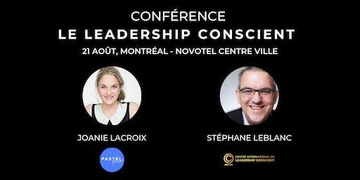 CONFÉRENCE LEADERSHIP CONSCIENT MONTRÉAL
