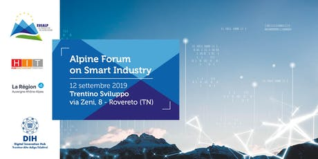 Alpine Forum on Smart Industry biglietti
