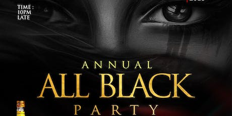 ALL BLACK PARTY 2019 tickets