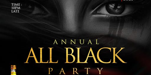 ALL BLACK PARTY 2019