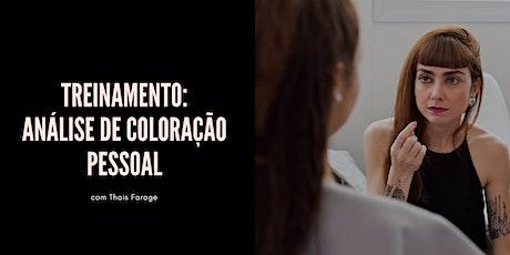 VEM APRENDER A FAZER A ANÁLISE DE CORES COM TRANQUILIDADE E SEGURANÇA - SÃO PAULO ingressos