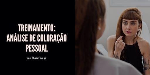 VEM APRENDER A FAZER A ANÁLISE DE CORES COM TRANQUILIDADE E SEGURANÇA - SÃO PAULO