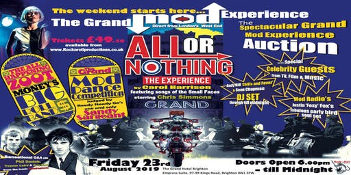 Rock N Roll Productions presents The Grand Mod Experience