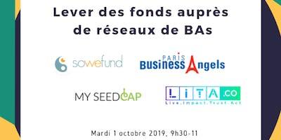 REX Startups / Levée de fonds auprès de réseau BAs