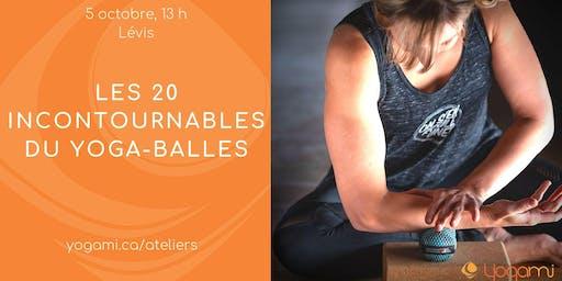 Les 20 incontournables du yoga-balles